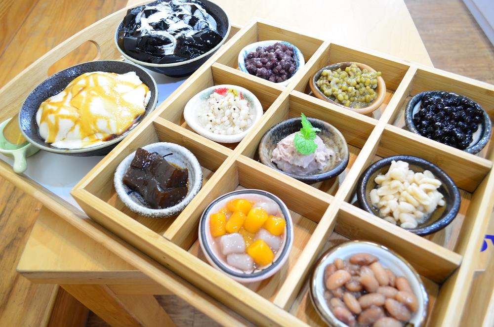 綠果子手調茶飲咖啡豆花仙草 斗六美食 斗六火車站美食 斗六甜點 斗六下午茶
