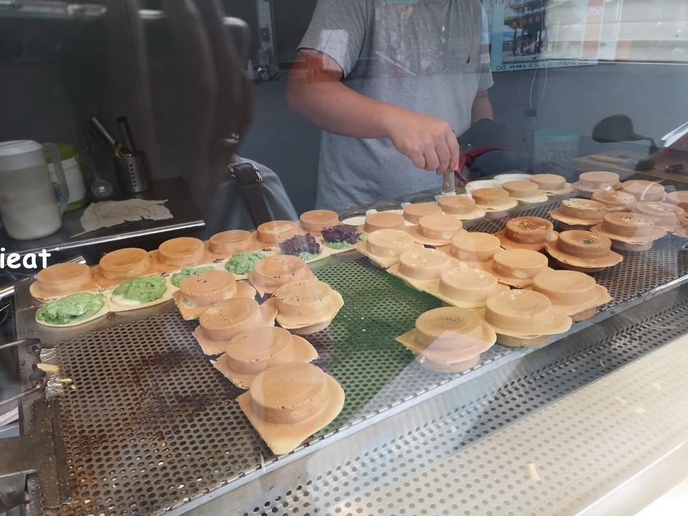 露餡了手作車輪餅 鹿港點心 鹿港下午茶 鹿港第一市場美食
