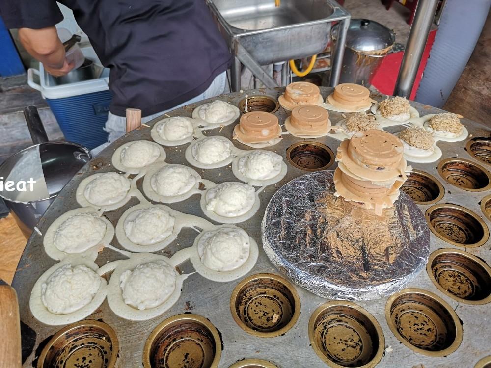飛碟紅豆餅 鹿港市場美食 鹿港紅豆餅 第一市場美食 鹿港下午茶
