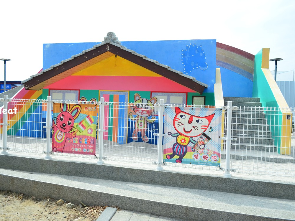彩虹眷村 台中景點 台中免費景點 台中親子景點