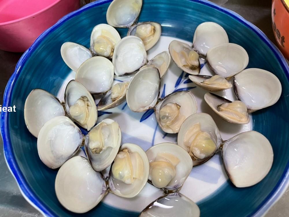 蛤蠣蒸蛋 簡易食譜 電鍋食譜 電鍋料理 簡易料理 蛋料理