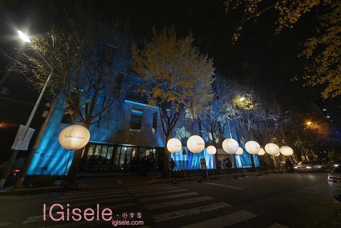 2014雪花文化展 SKIN=NIKS 戶外燈光投影 1