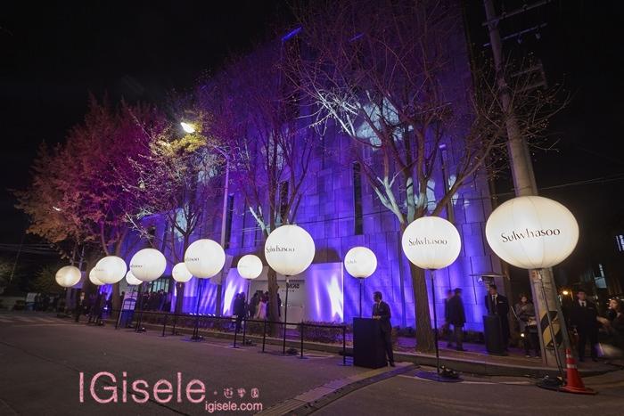 2014雪花文化展 SKIN=NIKS 戶外燈光投影 3