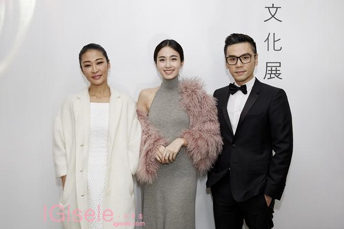 美妝趨勢達人 Kevin老師(右), 中國影后 梁靜(左),泰國女演員Poy