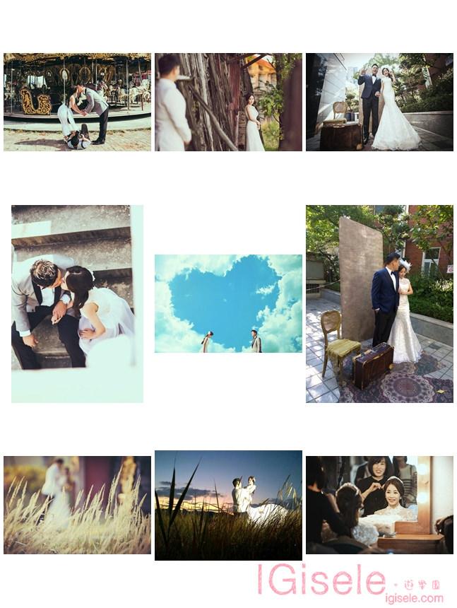 [韓國拍婚紗] 拍婚紗的那一天有趣與甜蜜的回憶
