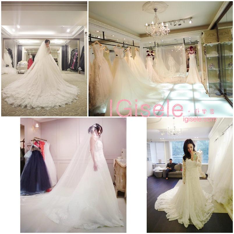 [我們結婚了] 我穿過的9家婚紗。孕婦婚紗挑選心得
