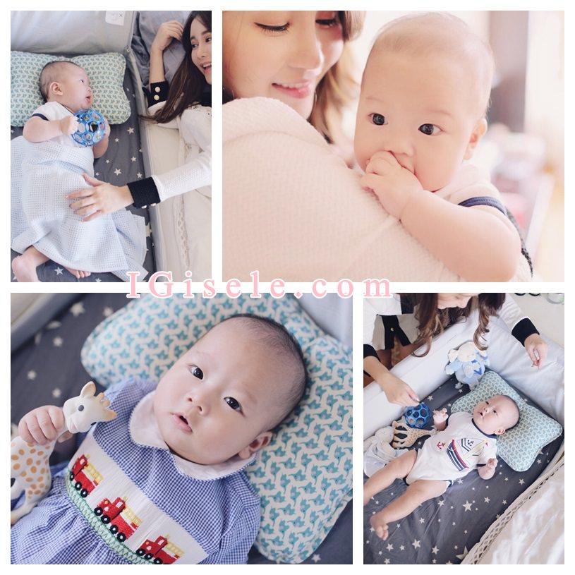 [寶寶] 乖乖私物。CP值超高 哺乳親餵媽咪必備嬰兒床