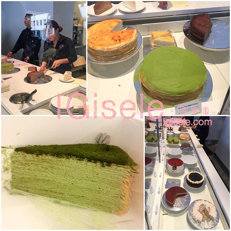 [甜點] 我愛抹茶千層蛋糕♥超夯的紐約甜點名店Lady M