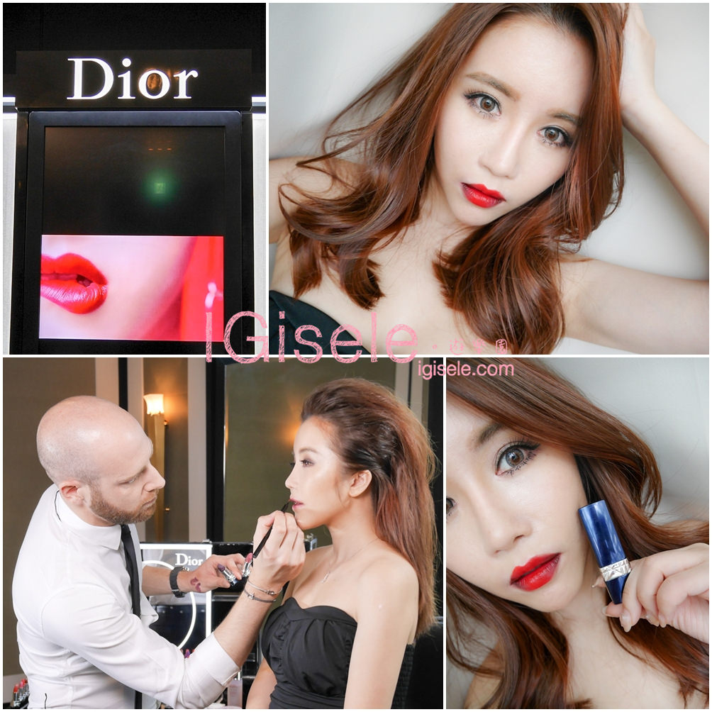 [彩妝] 畫出屬於自己的大勢女王氣場。Dior迪奧 藍星唇膏 六色實擦&三種唇彩變化
