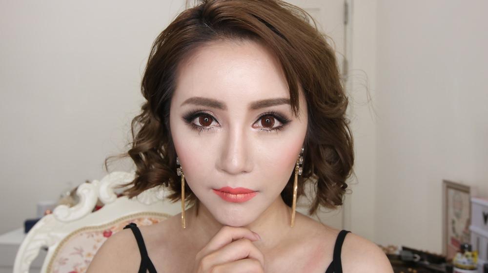 [YOUTUBE] 泰國女明星妝容 Ploy Chermarn 90%泰國彩妝