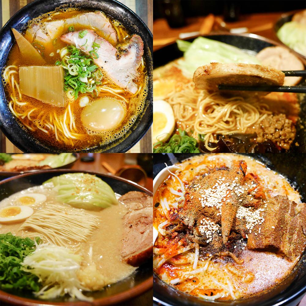 [ 小吉到處吃 ] 超濃厚道地日本拉麵 拉麵控看過來!!特色拉麵三間精選