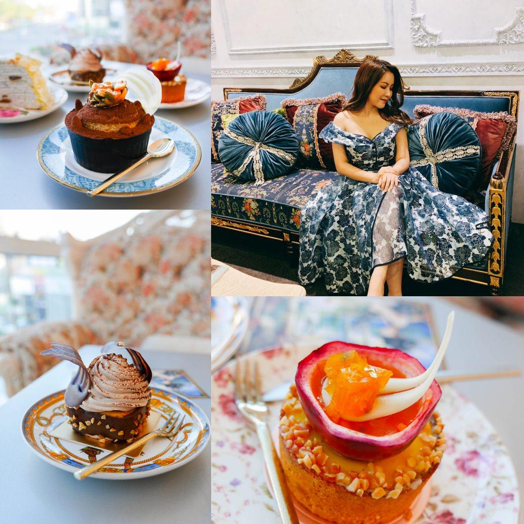 [小吉到處吃] 來場優美的下午茶,每個人都是最美的公主 ERIKA CHUNG CAFÉ