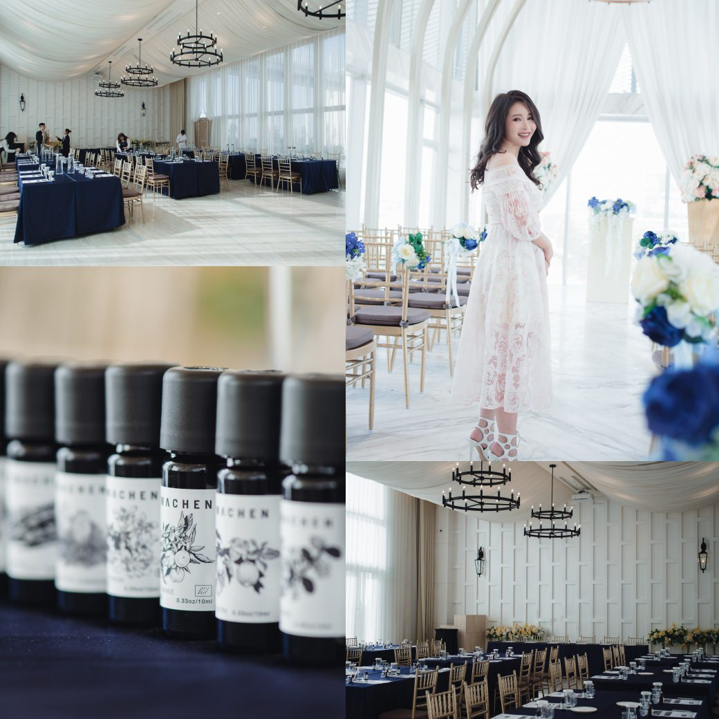 [醒寤 台中講座] 來一起手作屬於自己的精油~欣賞夢幻禮堂 萊特薇庭 Light wedding
