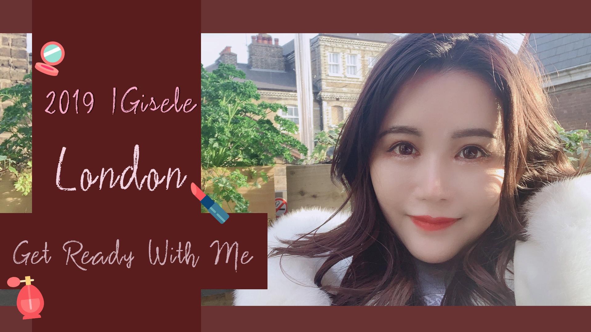 [YOUTUBE] GRAM 倫敦之旅的簡單乾淨秋天妝容 get ready with me! | IGisele