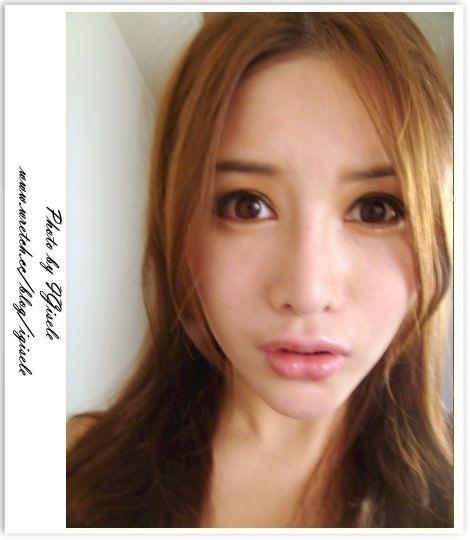 [妝容] 偽 ~ Angelababy 的橘色電眼妝 神韻到就好XD