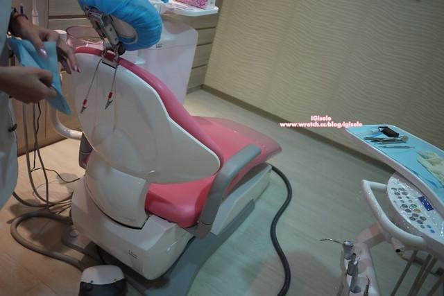 一直觉得粉色系的诊疗椅好可爱