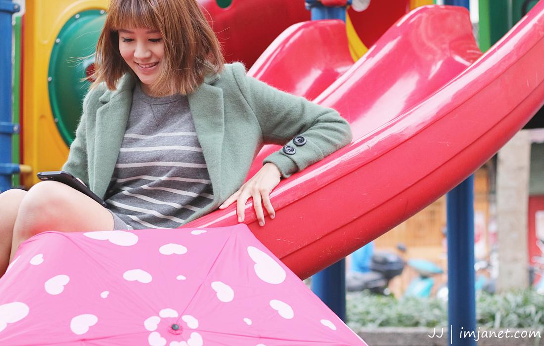 生活小物|不論晴雨,在都市中撐著彩虹傘就能擁有的小確幸 #彰化和美Rainbow House