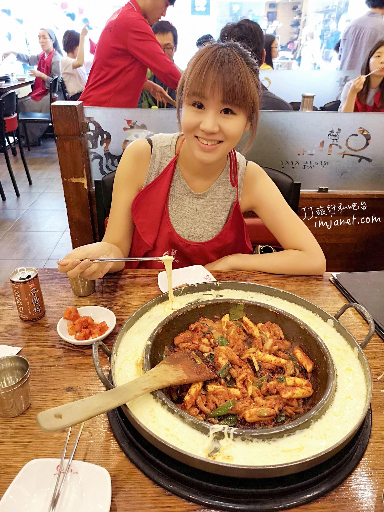 韓國首爾人氣美食|柳氏家辣炒雞排 明洞弘大東大門都有分店