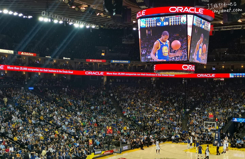 舊金山|NBA金州勇士Oracle Arena甲骨文球場圓夢之旅,明年搬家勇士新球場