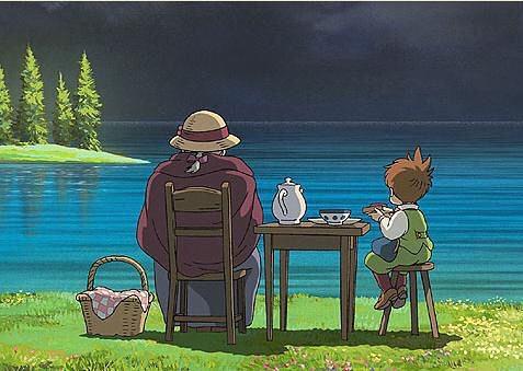不管你現正幾歲 正遇到什麼樣的處境 只要你肯、只要你願意 ㄧ切都有機會改變 - 宮崎駿的夢想之城