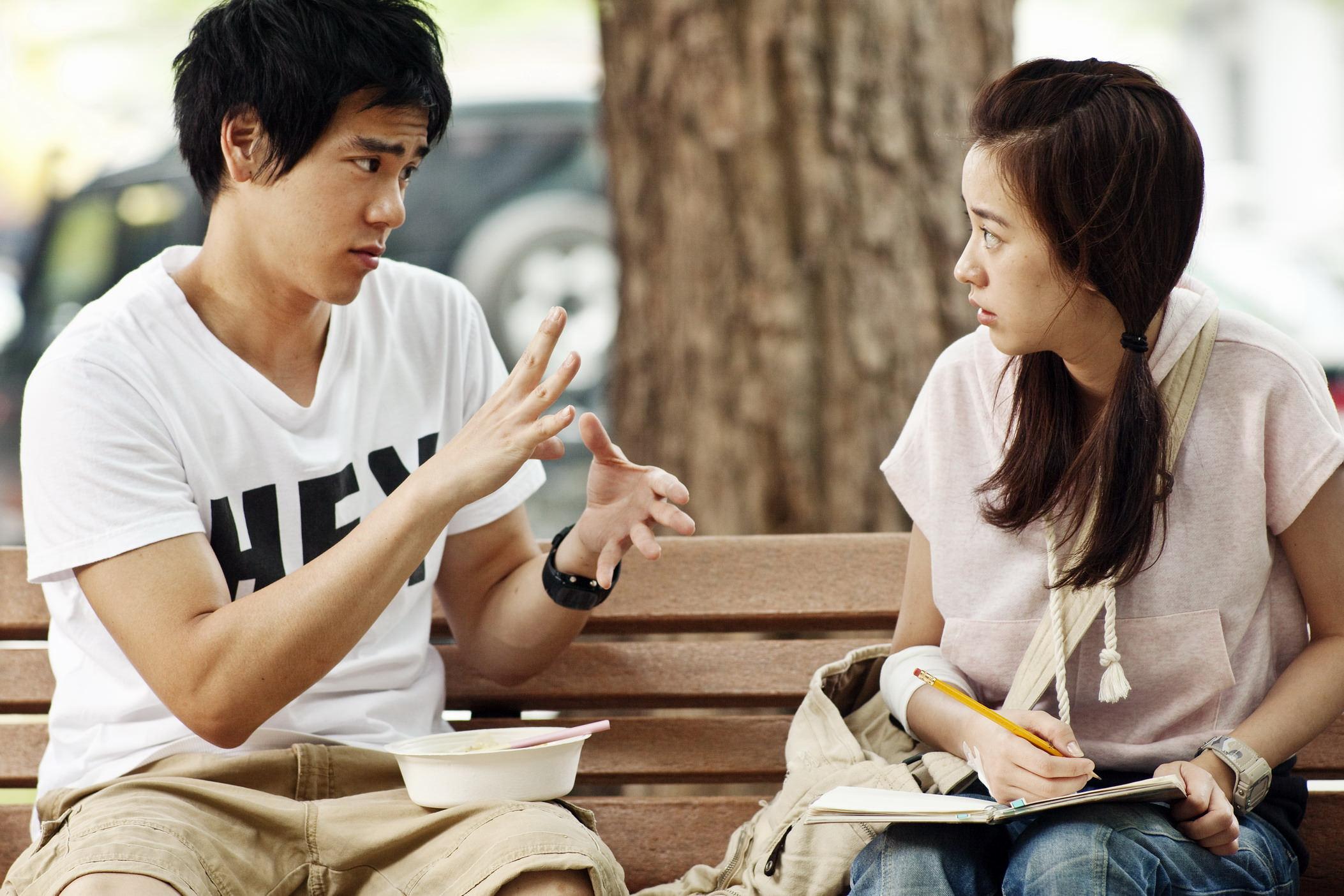 「愛情跟夢想都是很奇妙的事情,不用聽,不用說就能感受到它。」 —《聽說》—我們用電影寫日記