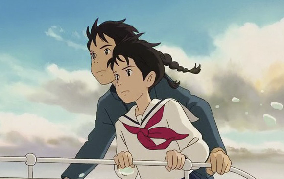 《來自紅花坂》訴說懷舊氣息中的蓬勃朝氣,是一種純情有力量的愛戀-動漫的故事