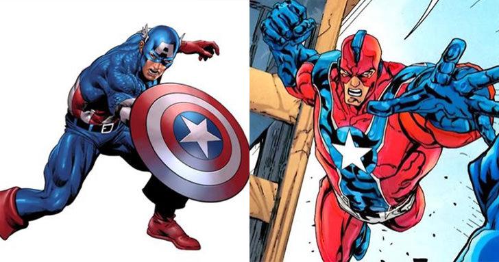 盤點漫威和DC角色的相似之處!美國隊長和雷神居然有失散多年的「雙胞胎兄弟」 – 動漫的故事