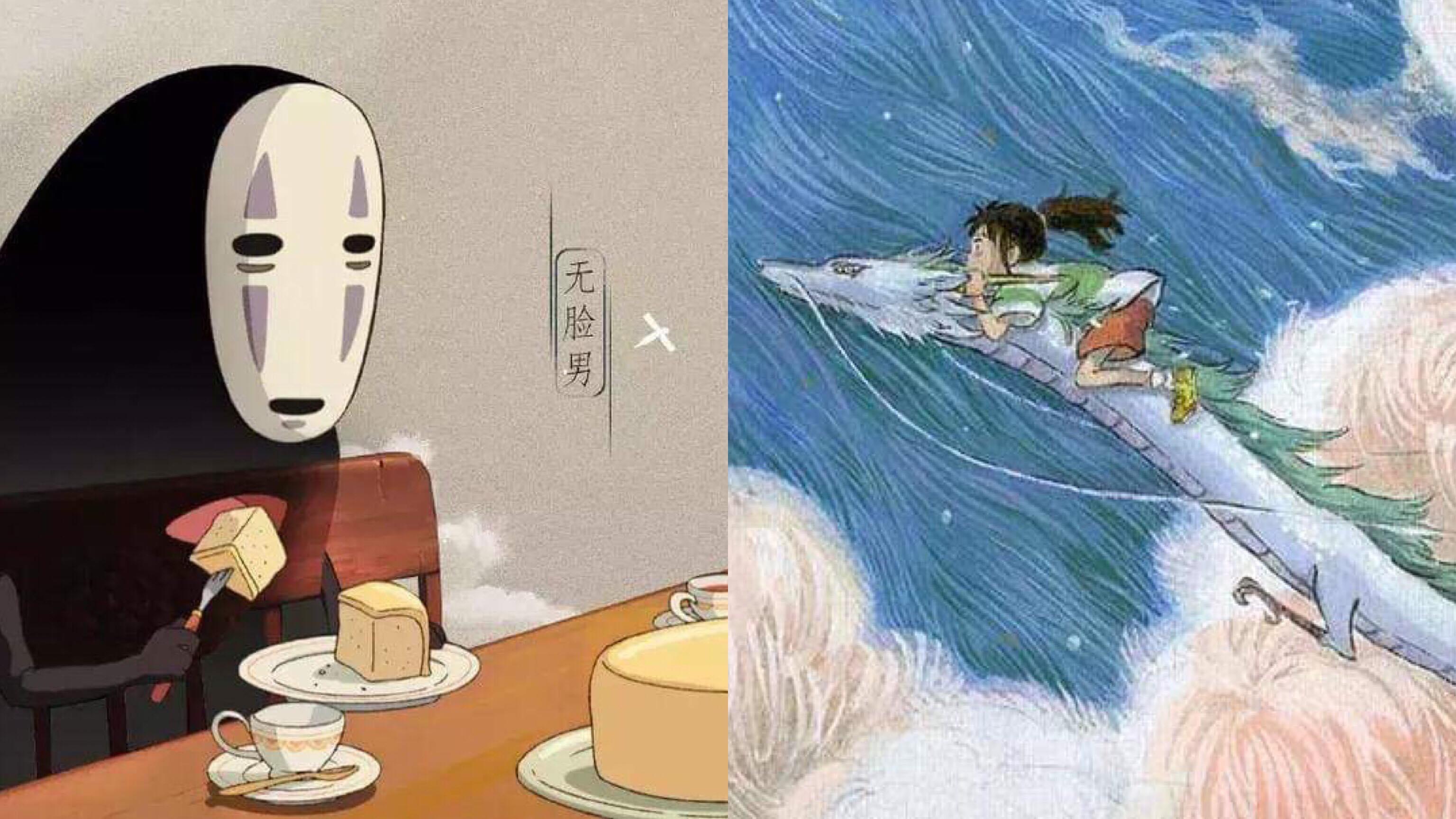 他為《神隱少女》重新設計的海報,讓許多網友看到「忍不住哭了」…. – 我們用電影寫日記