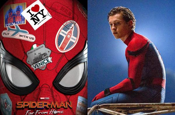 超扯!《蜘蛛人:離家日》海報大出包,山繆傑克森氣喊:「ㄇㄉㄈㄎ!」 – 我們用電影寫日記