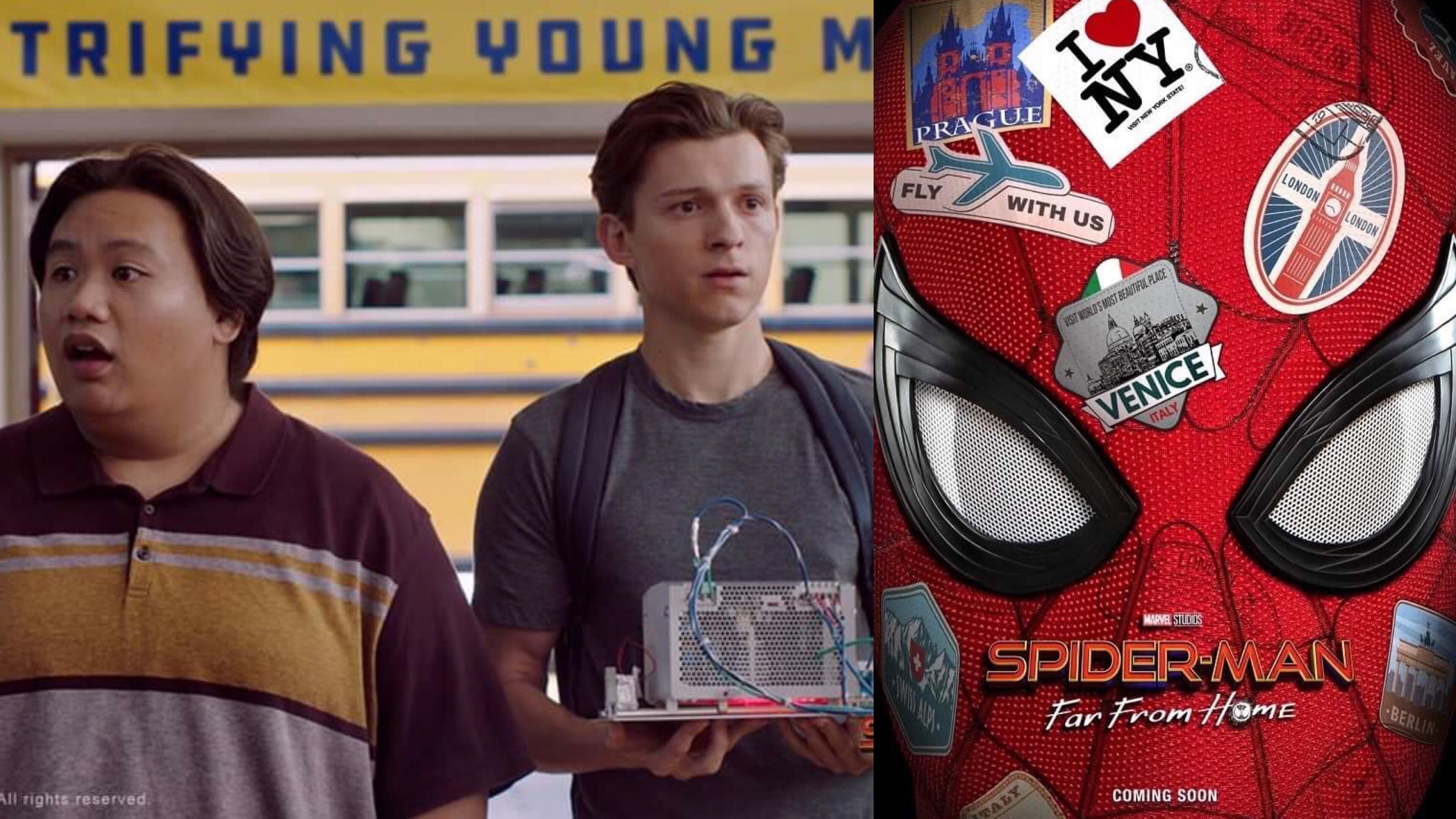 《復仇者聯盟4》之後 5 年都過去了,為什麼小蜘蛛還是要去上學呢?  —《蜘蛛人:離家日》— 我們用電影寫日記