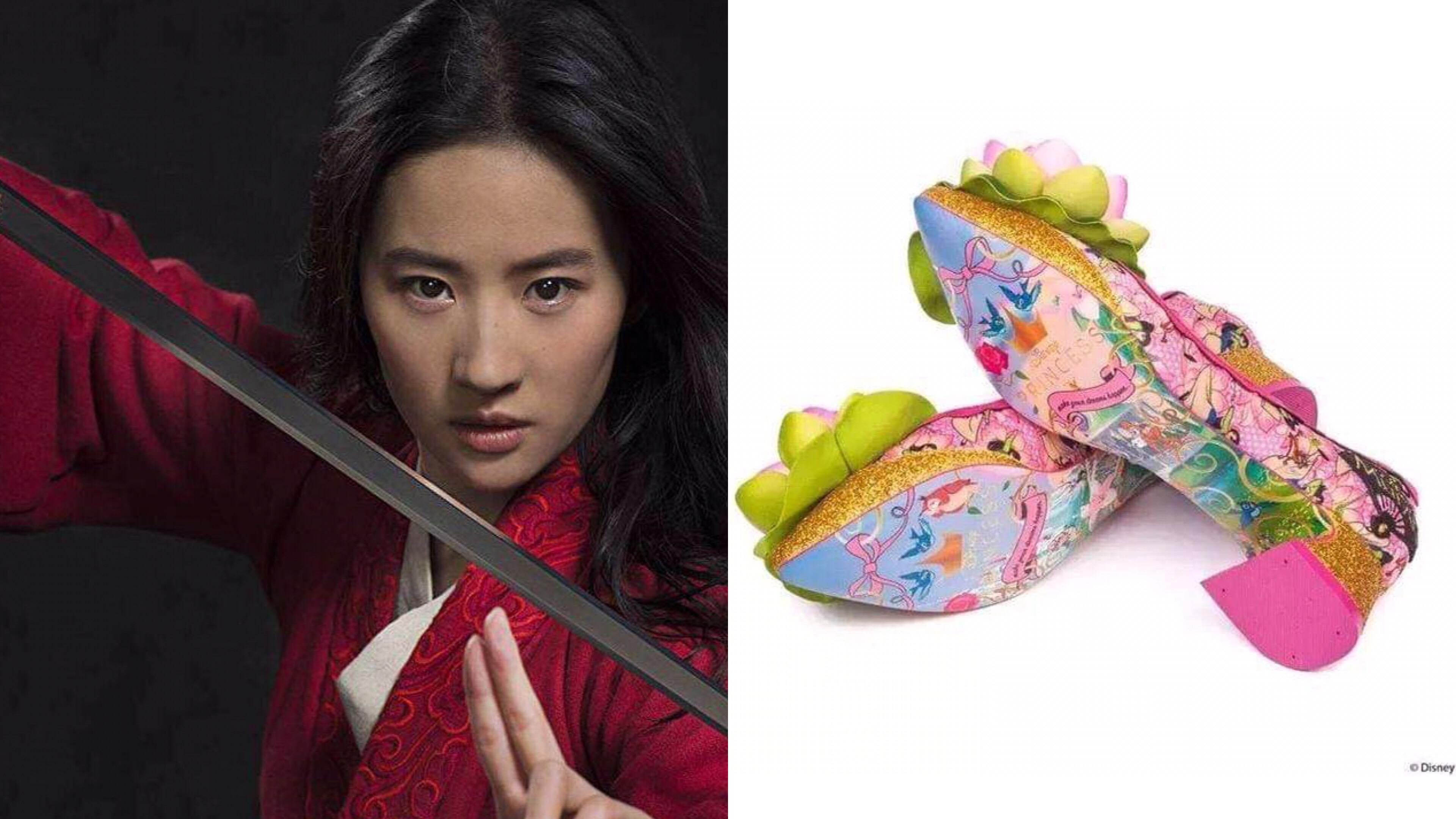 醜到哭!迪士尼聯名出了一系列「花木蘭高跟鞋」,網友瘋狂吐槽「這是壽鞋嗎?」 – 我們用電影寫日記
