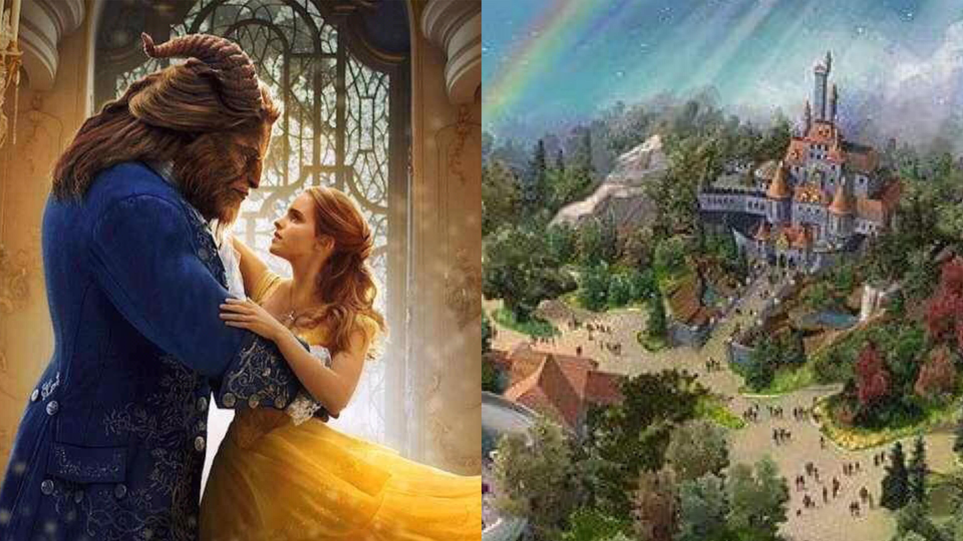《美女與野獸》主題樂園來了!東京迪士尼新園區曝光,史上最逼真的「貝兒」、「茶壺太太」 – 我們用電影寫日記