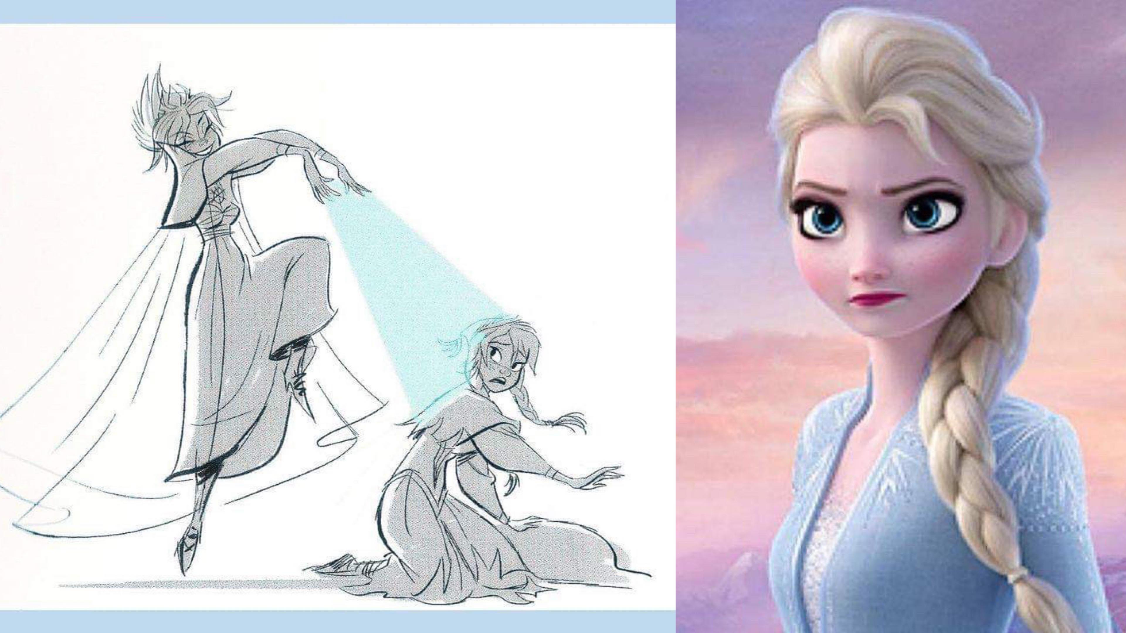 「《冰雪奇緣2》Elsa 最初設定竟然是大反派!」導演首度揭秘,將反派打造成 Elsa 女王的過程… – 我們用電影寫日記