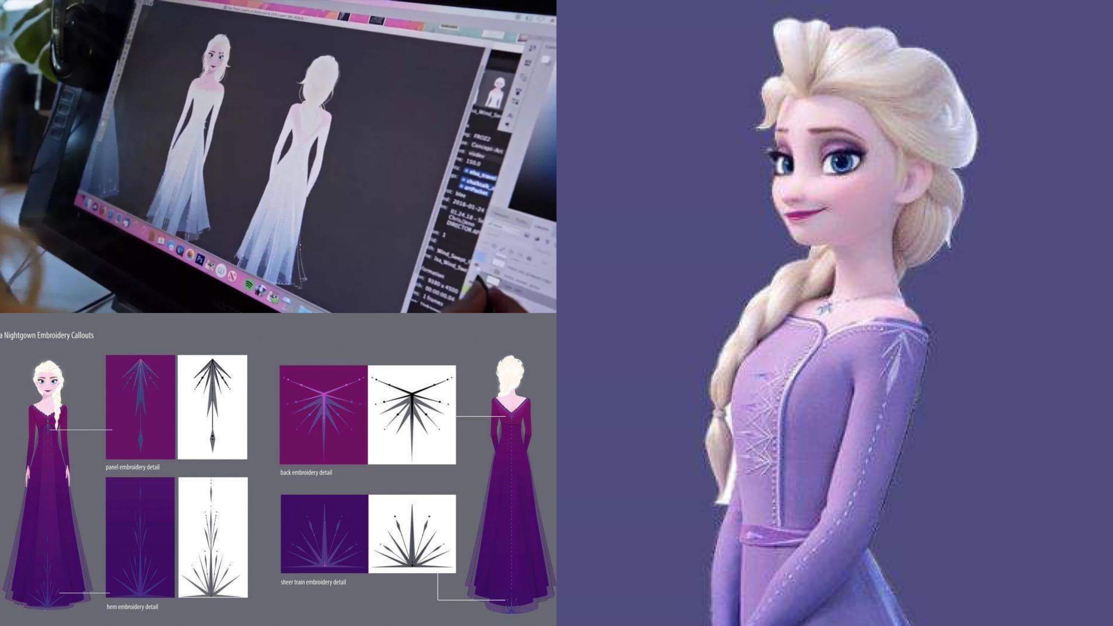 《冰雪奇緣2》Elsa 的服裝竟然「暗藏故事玄機」,難怪足足花了 7 年才完成續集… – 我們用電影寫日記