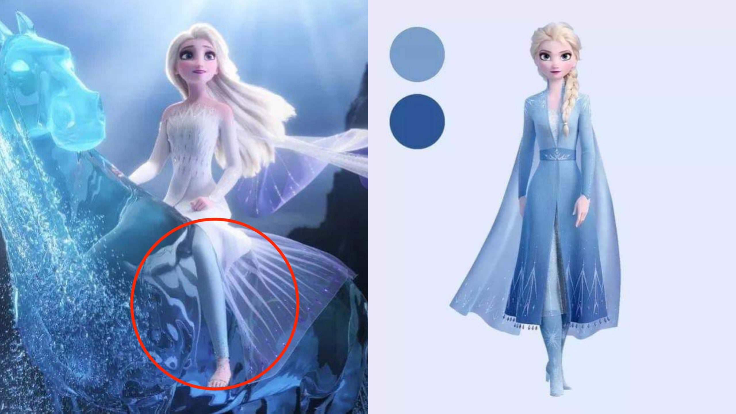 「Elsa 為什麼穿內搭褲?」迪士尼給出爆笑官方答案,網友表示:美就夠了—《冰雪奇緣2》—我們用電影寫日記