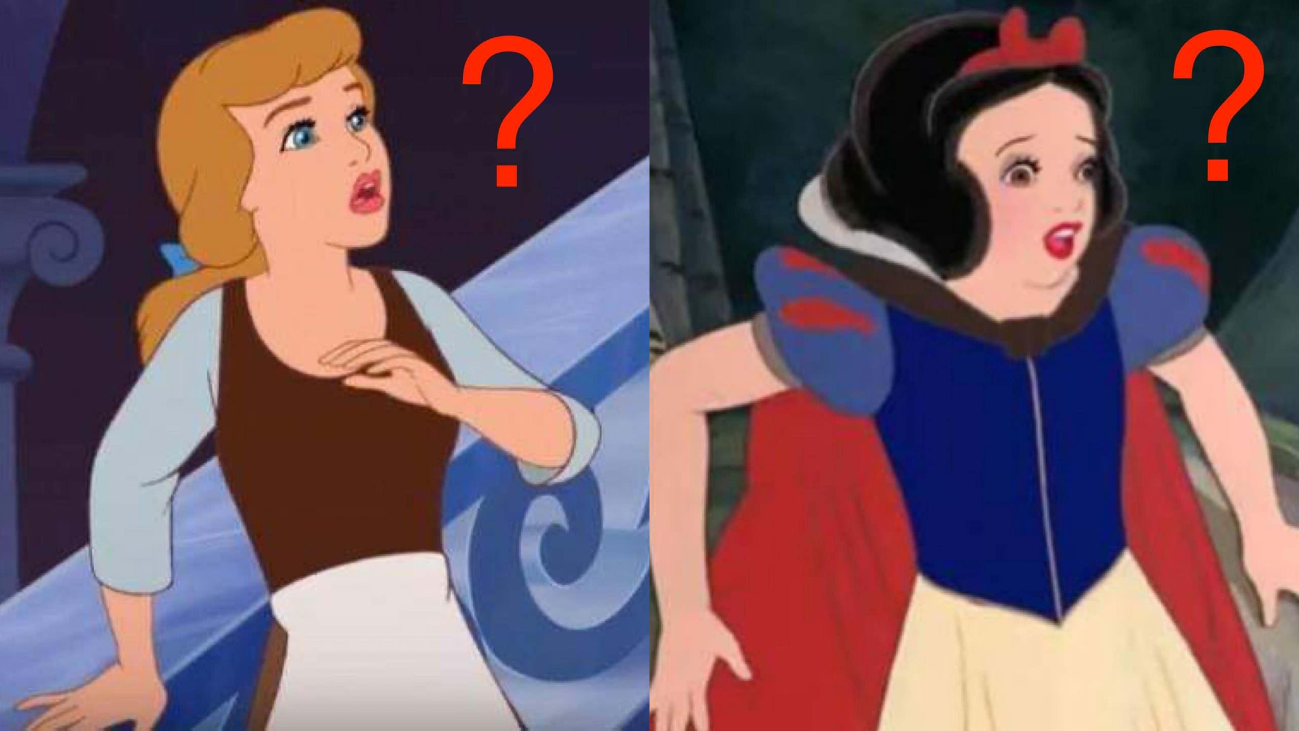 多數迪士尼公主都「缺少一個身體部位」,就連白雪公主和小美人魚也沒有! – 動漫的故事