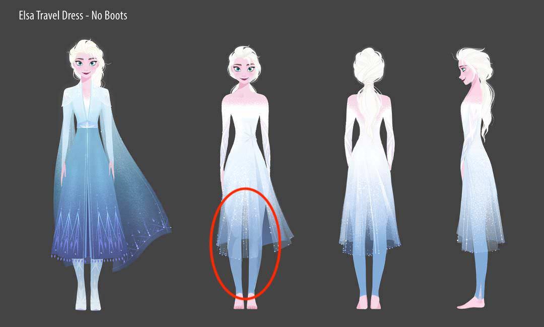 「迪士尼為什麼要讓 Elsa 穿內搭褲?」服裝設計師給出的答案,讓粉絲都笑了! – 我們用電影寫日記
