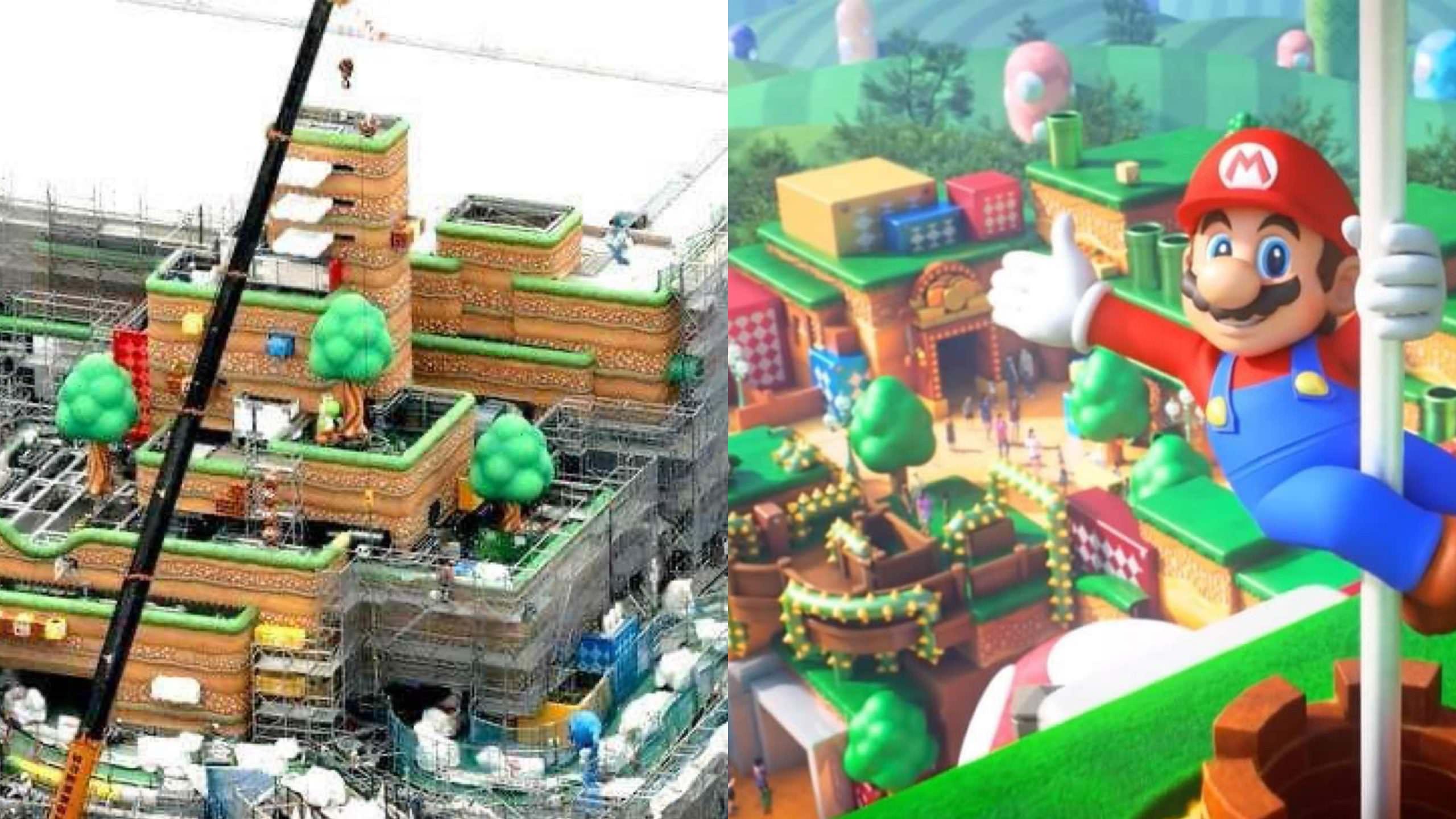 模擬圖曝光!超級任天堂世界花了 54 億美金打造樂園,連「馬力歐賽車」都能真人玩… – 我們用電影寫日記