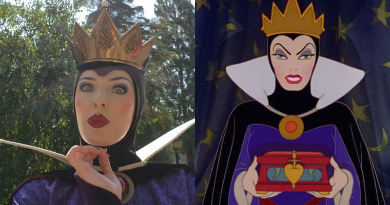 迪士尼超跩的壞皇后爆紅!罵米老鼠、Elsa一戰成名,網友跪求:「拜託翻我白眼!」 – 我們用電影寫日記