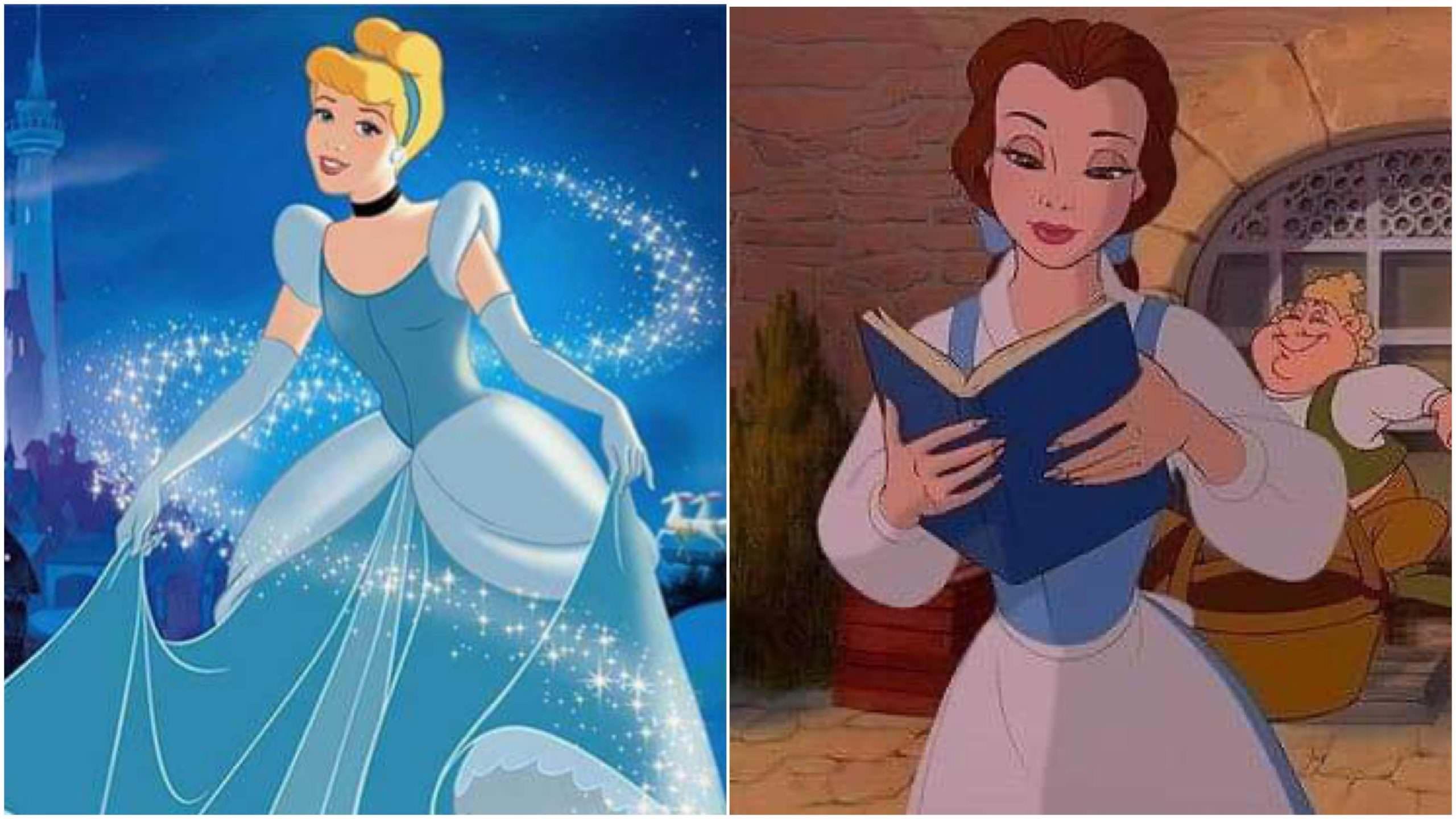 「迪士尼公主如果互相吐槽,會發生什麼事?」貝兒竟然狠嗆灰姑娘沒腦子… – 我們用電影寫日記