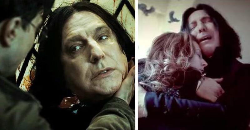 《哈利波特》誰最痴心的人?最痴心的「他」在第一集就出現,石內卜只能排第二 – 我們用電影寫日記