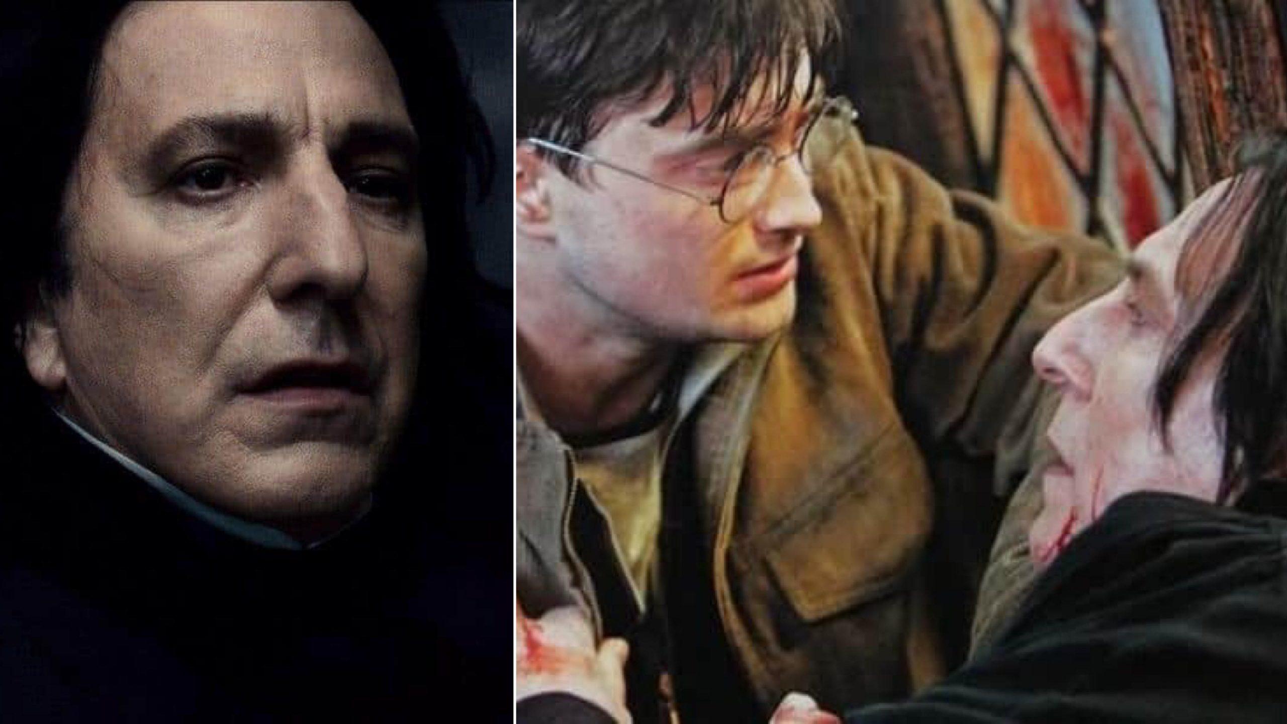 如果《哈利波特》石內卜的最後一句話是「I'm your father」那劇情將會如何發展? – 我們用電影寫日記