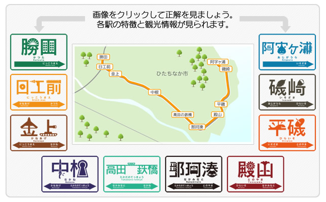 路線図・駅 ひたちなか海浜鉄道株式会社1