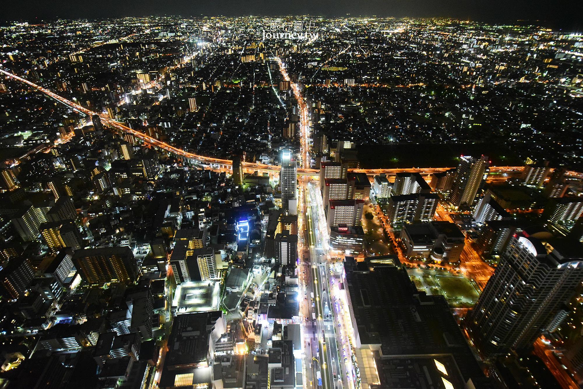 日本,大阪,大阪自由行,大阪景點,阿倍野,Harukas 300,大阪夜景