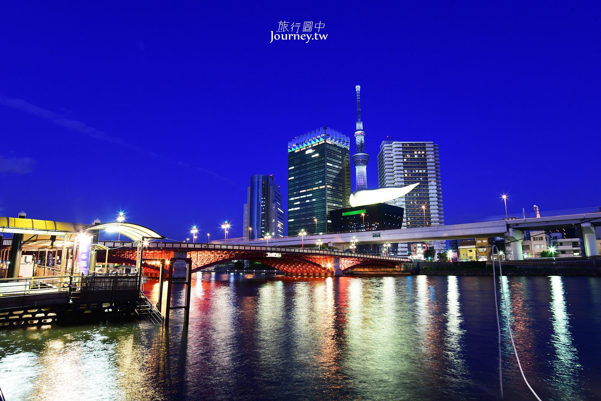 日本,東京,淺草,隅田川,東京夜景