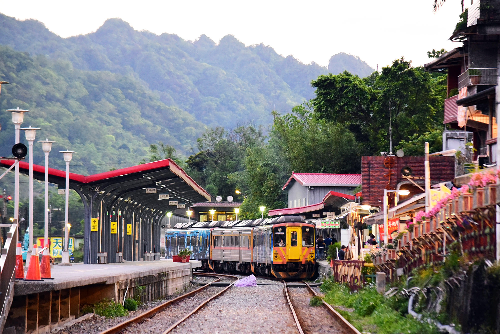 新北,平溪景點,平溪線,十分車站