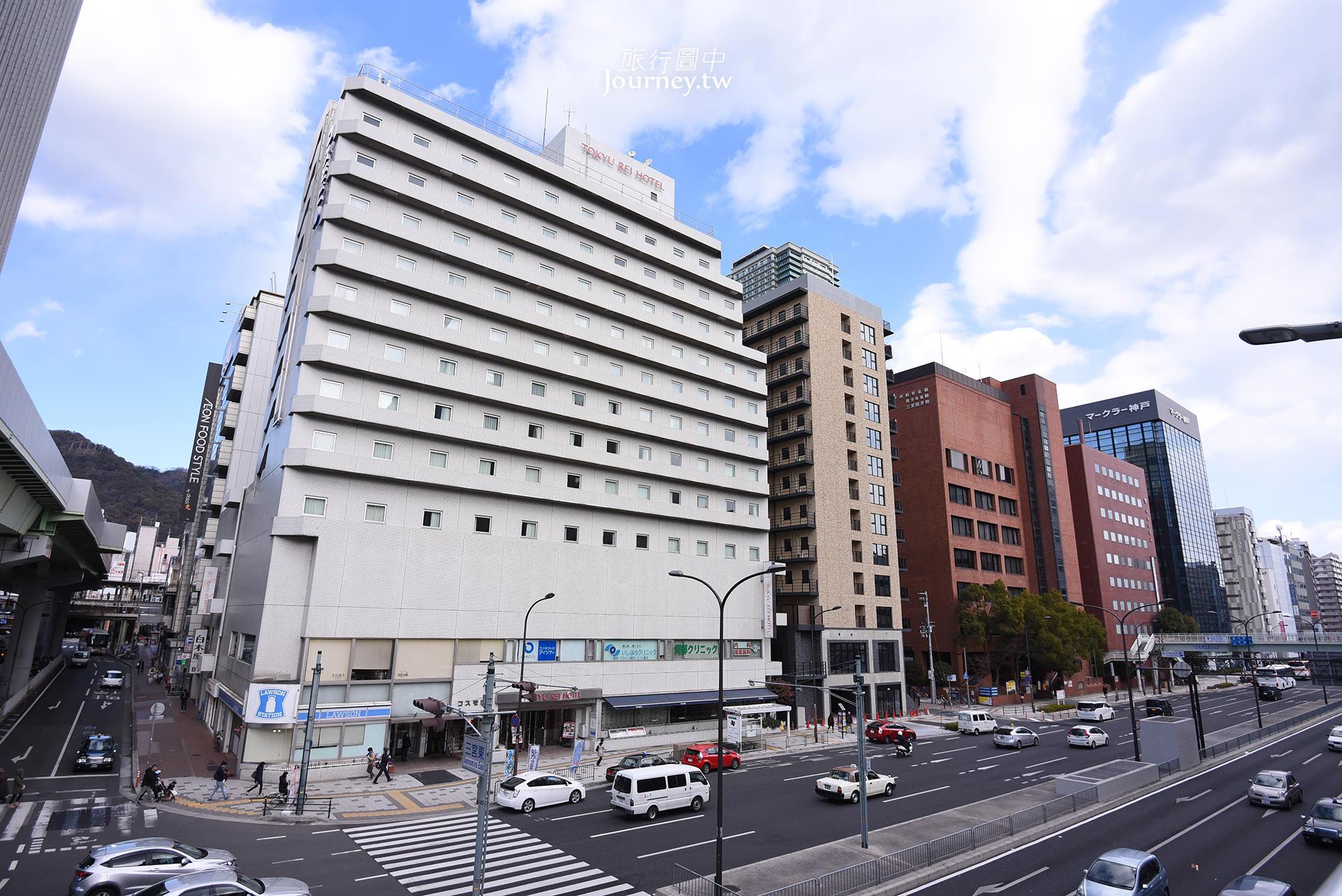 神戶,住宿,三宮,JR三宮駅,東口,三宮東急,REI Hotel