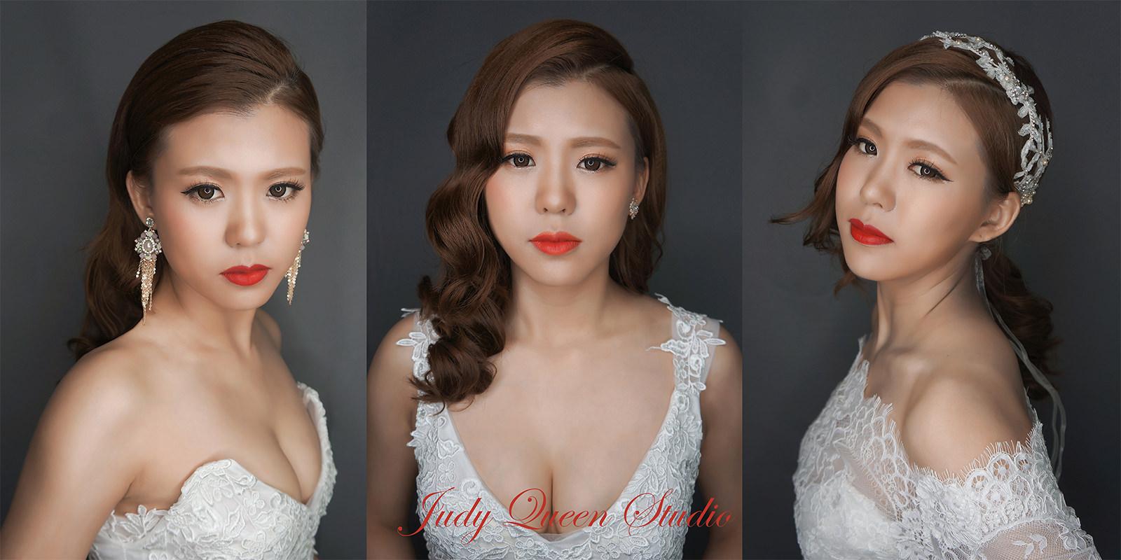 時尚復古風新娘造型