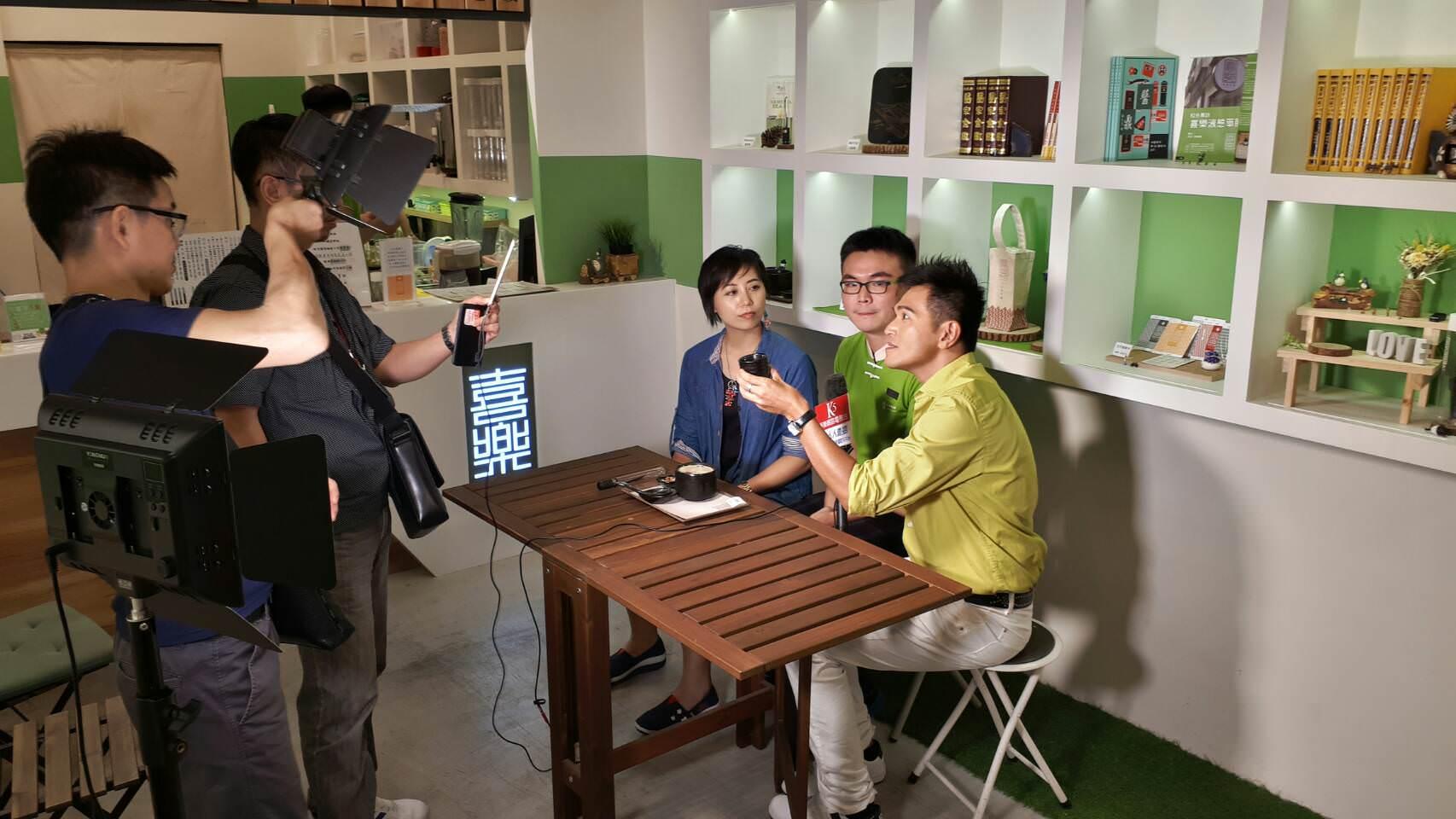 K5娛樂網專訪喜樂液態樂膳片段