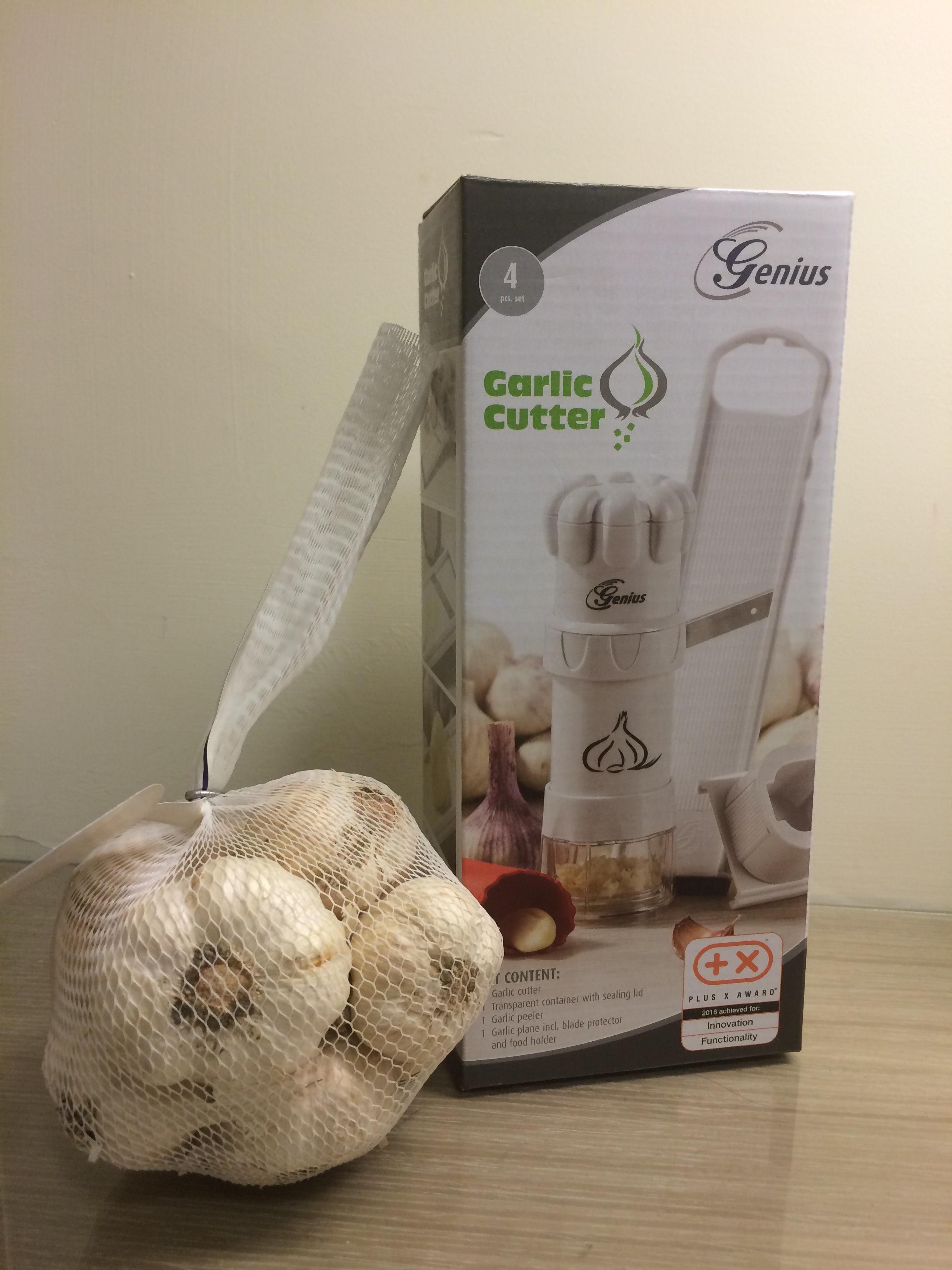 [開箱] 德國Garlic Cutter蒜頭調理好神氣 愛吃蒜頭的你不能錯過懶人工具